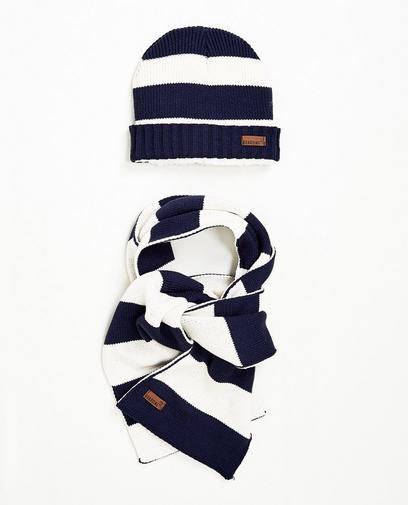 Set aus Schal und Mütze 7-14